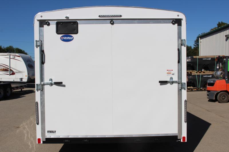 2020 United Trailers ULT 8.5X24 Enclosed Cargo Trailer