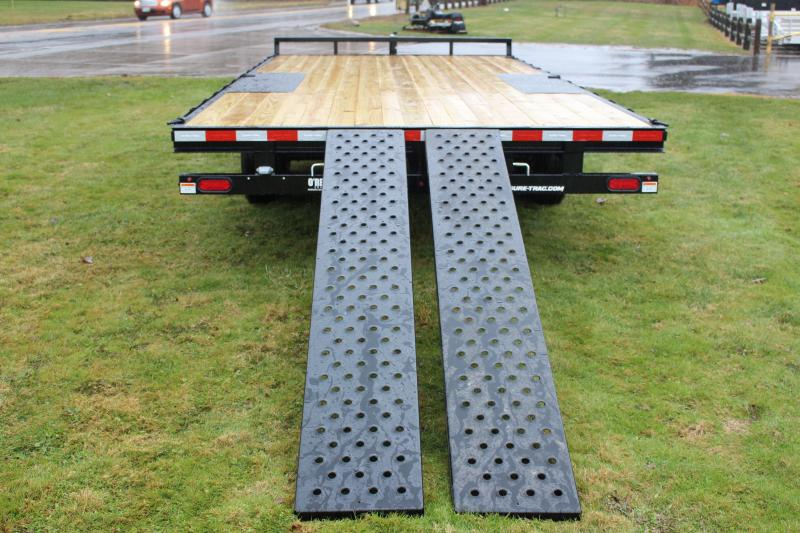 2020 Sure-Trac 8.5' x 18' Flatbed Trailer