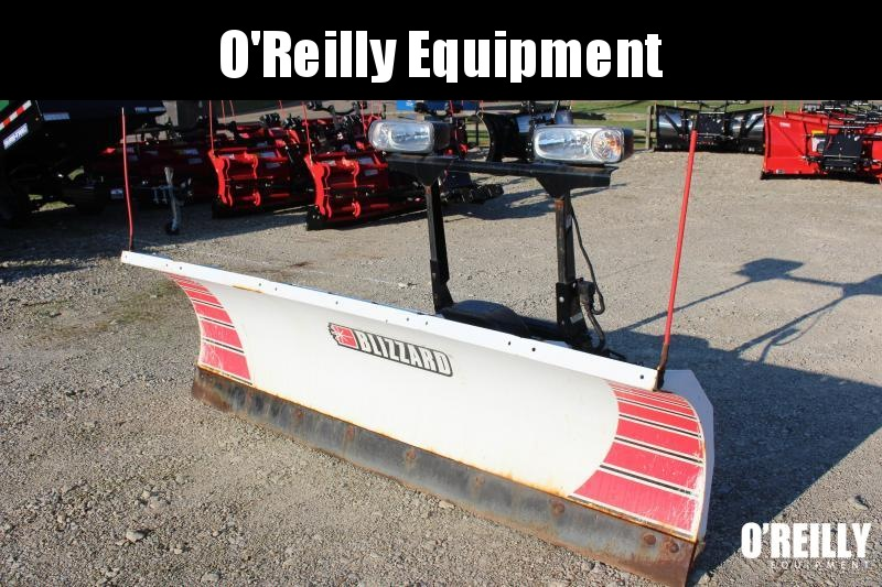 "2010 BLIZZARD 8' 6"" STEEL Snow Truck Plow USED"