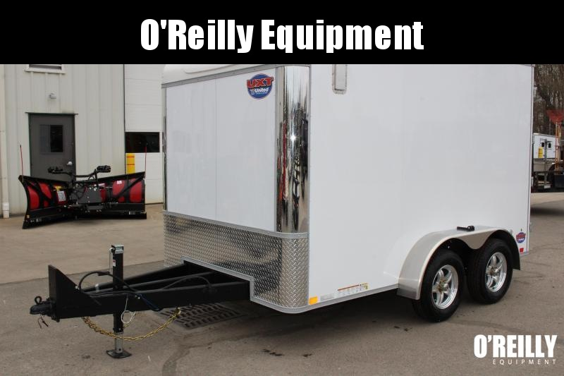 2020 United Trailers UXT 7 x 12 Enclosed Cargo Trailer