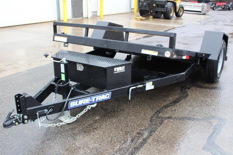 2018 Sure-Trac 7 x 12 TILT Equipment Trailer