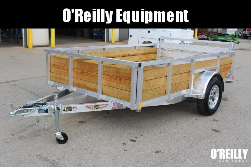 "2020 H and H Trailer 6'4"" x 10' Utility Trailer"