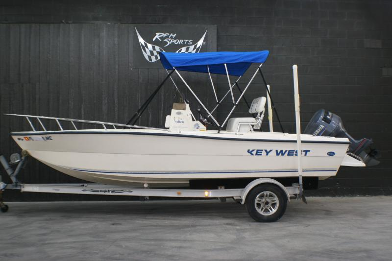 2003 Key West 1900 Sportsman Fishing Boat