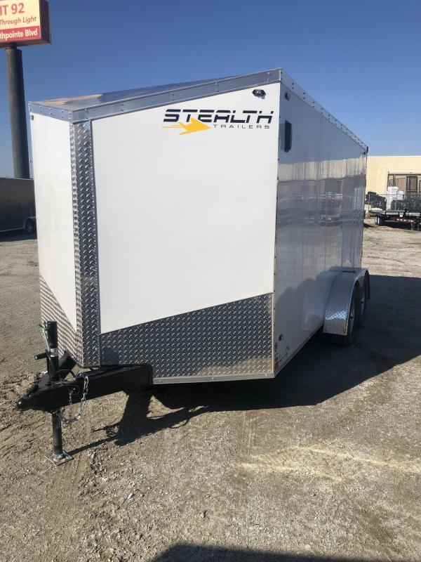2020 Stealth Titan 7X16 7K GVWR Cargo Trailer $5000