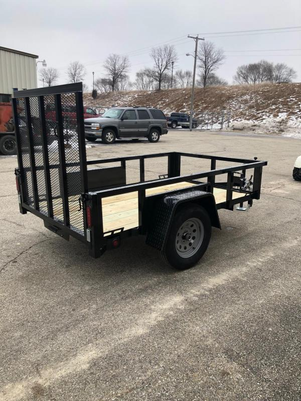 2020 Quality Steel 5X10 Single Axle Utility Trailer $1400