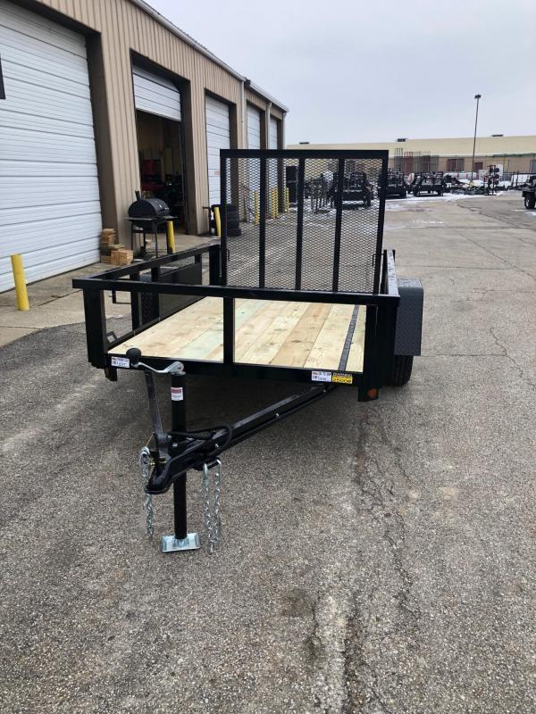 2020 Quality Steel 5X10 Single Axle Utility Trailer $1400