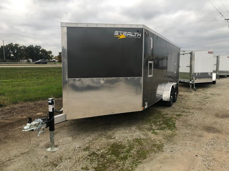 2020 Stealth Predator 7 x 23 7K GVWR Snowmobile Trailer $8400