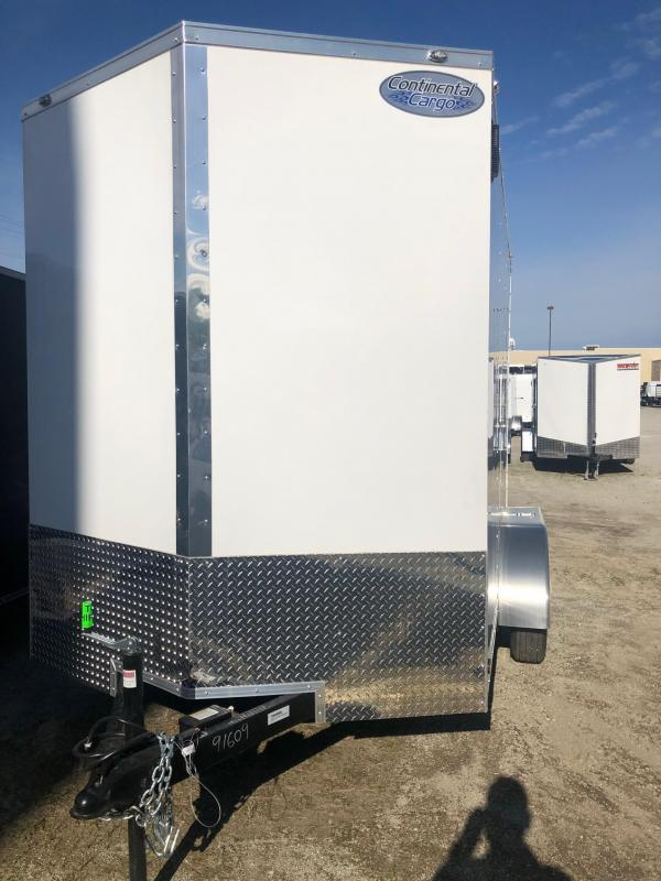 2020 Continental Cargo V-Series 6.5X12 7K GVWR Cargo Trailer $4190