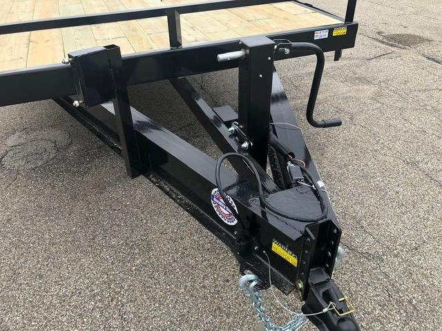 "2020 Quality Steel 102"" X 24' 14K GVWR Deck Over Trailer  $5480"