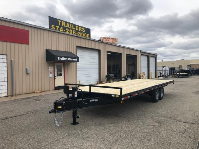 "2020 Quality Steel 102"" X 24' 14K GVWR Deck Over Trailer  $5440"