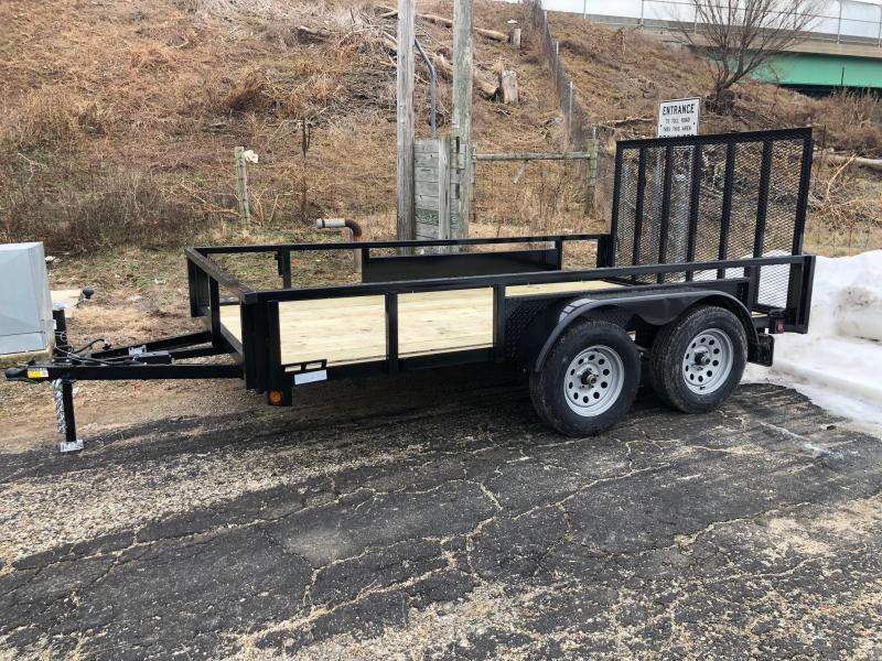 """2020 Quality Steel 82""""X12' 7K GVWR Utility Trailer $2475"""