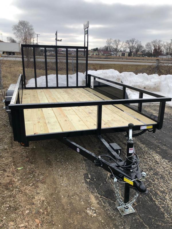 2020 Quality Steel 7X12 7K GVWR Utility Trailer $2475