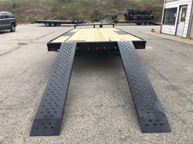 "2020 Quality Steel 101"" x 20' 10K Flatbed Deckover Trailer $4050"