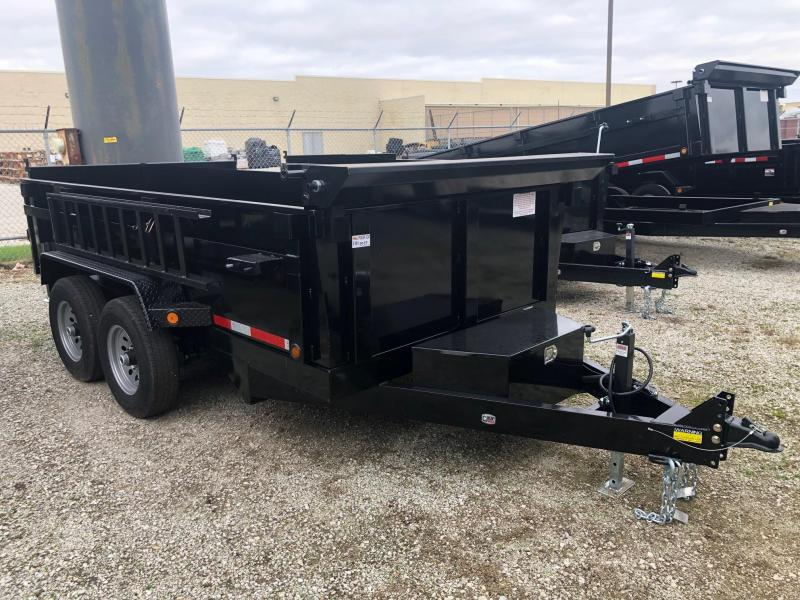 2020 Quality Steel CJ 6' x 12' 10K GVWR Dump Trailer $6100