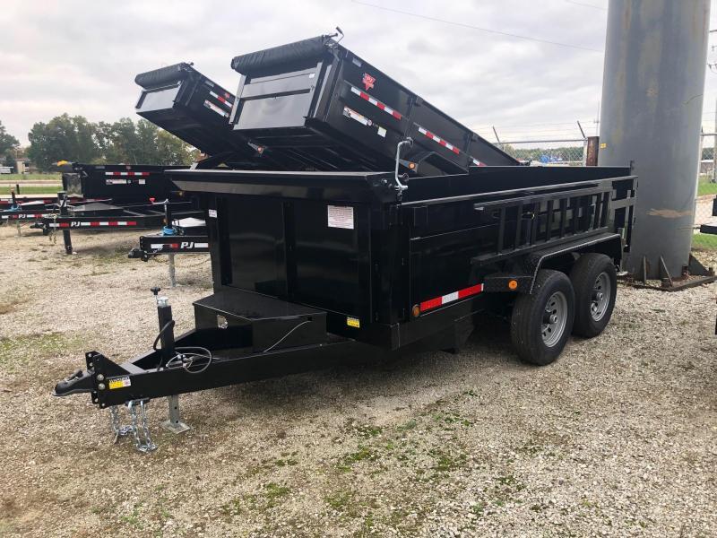 2020 Quality Steel CJ 6' x 12' 10K GVWR Dump Trailer $6100