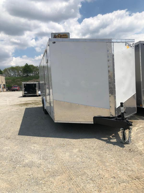 2020 Stealth Mustang 8.5X16 7K GVWR Enclosed Car Trailer $5100