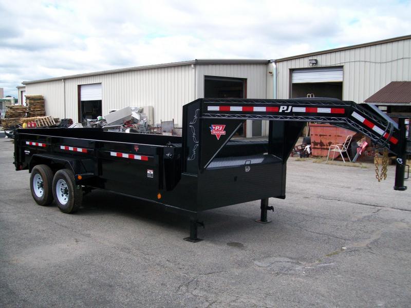"2020 PJ DL 83"" x 16' 15680 GVWR Dump Trailer $9250"