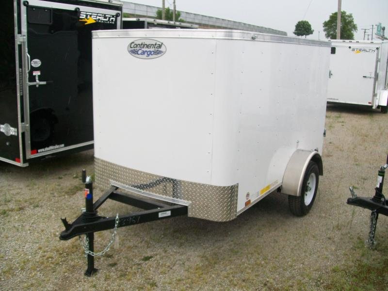 2020 Continental Cargo 5x8 RS Series Cargo Trailer $1795