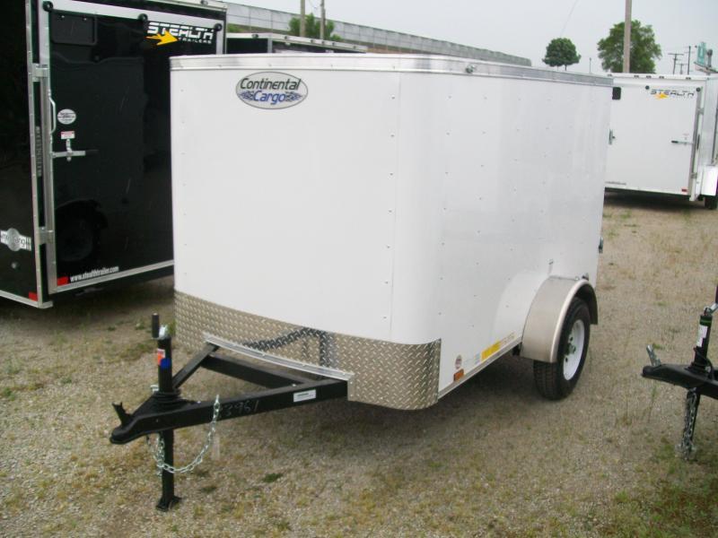 2020 Continental Cargo 5x8 Single Axle Trailer $1795