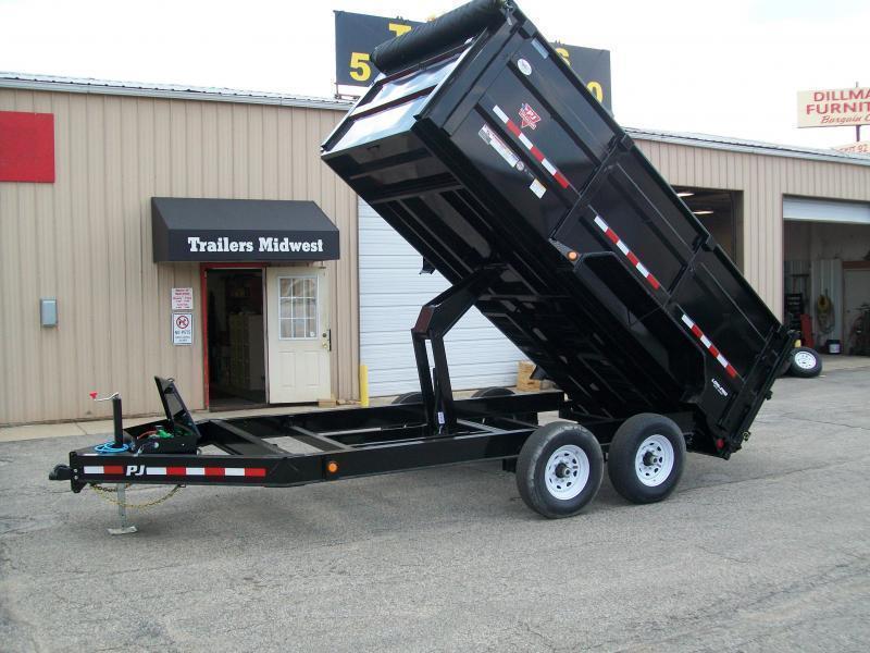 "2020 PJ DM 83"" X 14' 4' High Side 14K GVWR Dump Trailer $8140"
