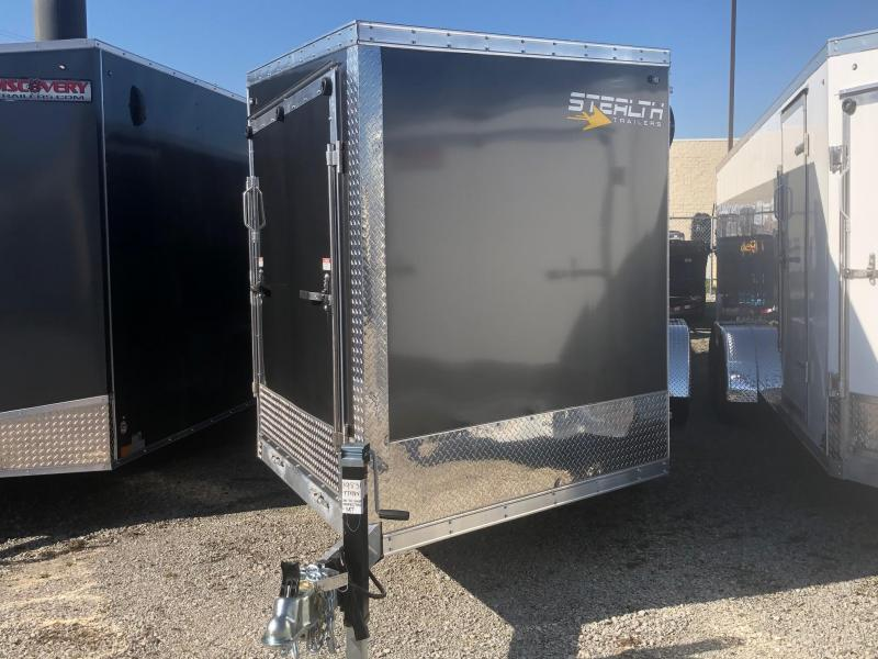 2020 Stealth Apache 7X27 7K GVWR Snowmobile Trailer $7700
