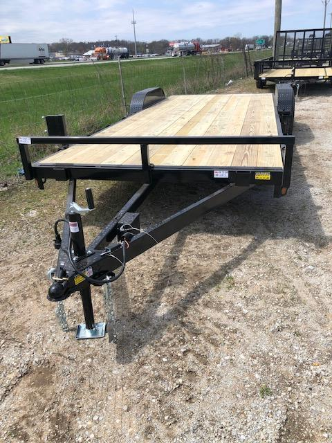 "2020 Quality Steel 83""X18' 7K GVWR Car Trailer $3250"