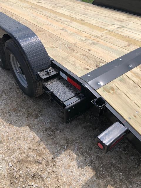 "2020 Quality Steel 83""X18' 7K GVWR Car Trailer $3250"