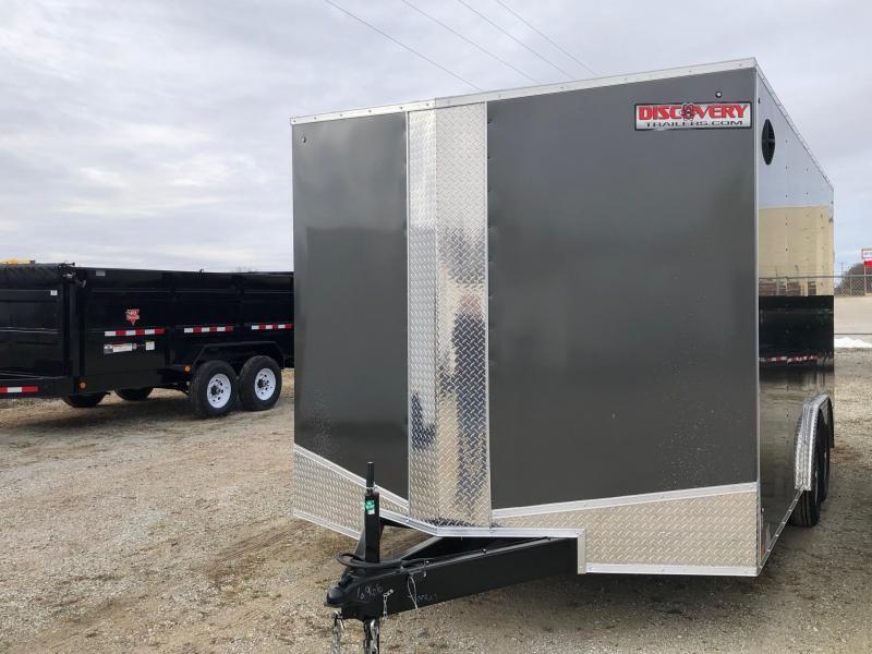 2021 Discovery Challenger ET 8.5x16 7K GVWR Enclosed Car Trailer $5075