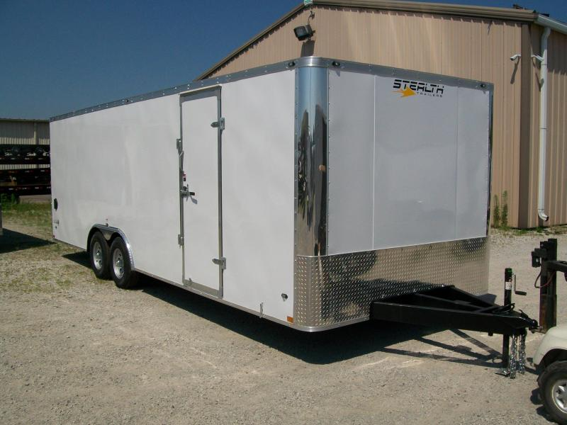 2019 Stealth Titan 8.5X24 10K GVWR Enclosed Car Trailer On Sale $9395