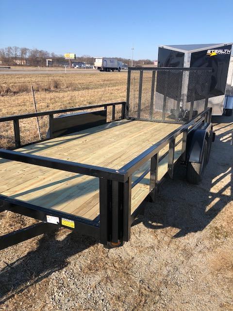 """2020 Quality Steel 82""""X16' 7K GVWR Utility Trailer $2600"""