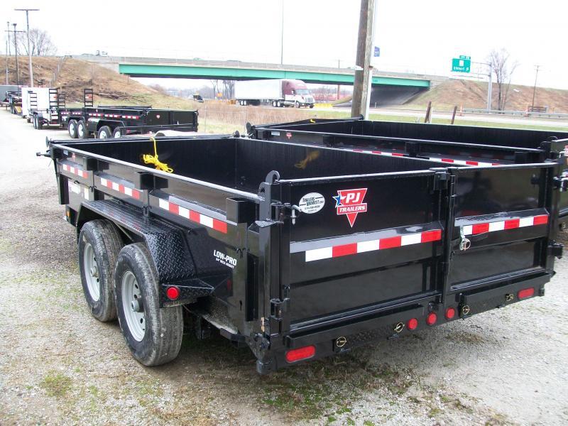 """2019 PJ DL 83"""" X 14' 14K GVWR Dump Trailer $7695"""