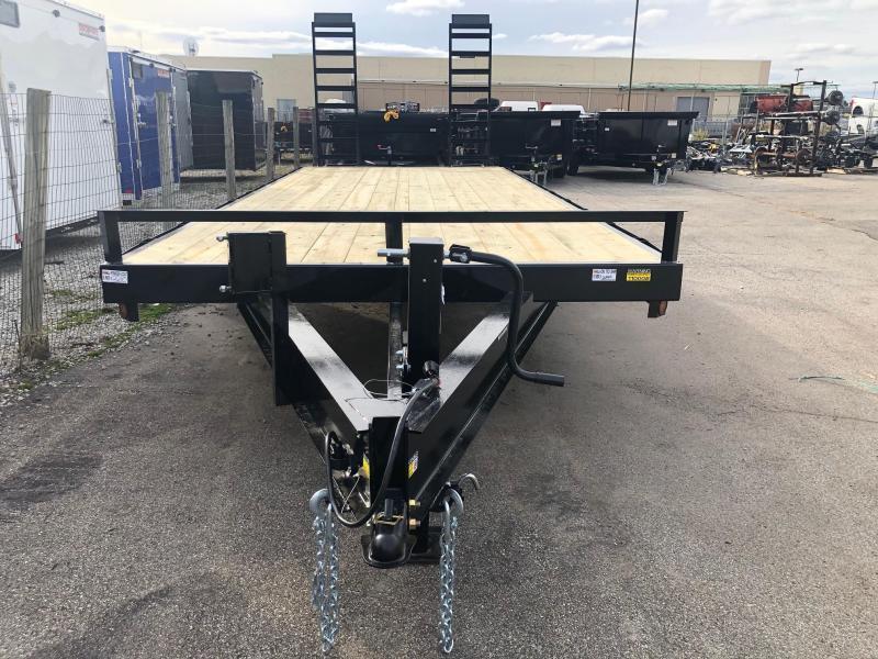 "2021 Quality Steel 102""x24'14K Flatbed Deckover Trailer $5440"
