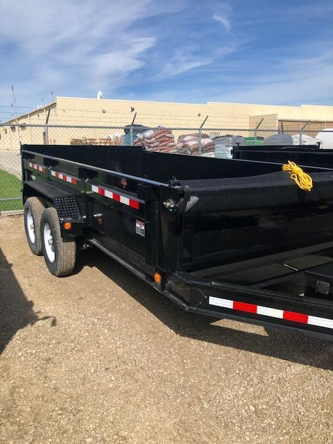 "2020 PJ DL 83"" X 14' 14K GVWR 24"" Deck Height Dump Trailer $7595"