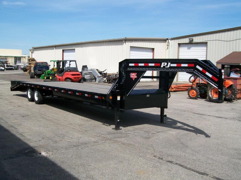 2020 PJ LS 102' X 25' 15680 GVWR Flatbed Trailer $7495