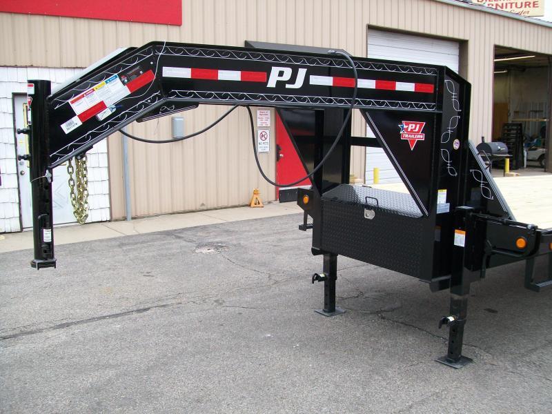 "2019 PJ FD 102"" X 28' 25K GVWR Flatbed Trailer $10398"