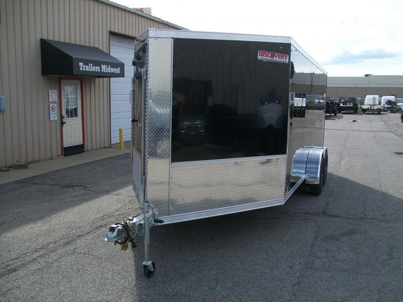 2020 Discovery Aerolite 7X23 7K GVWR Snowmobile Trailer