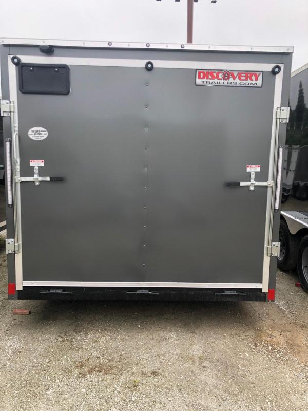 2020 Discovery Rover ET 7X12 Single Axle Trailer $3425