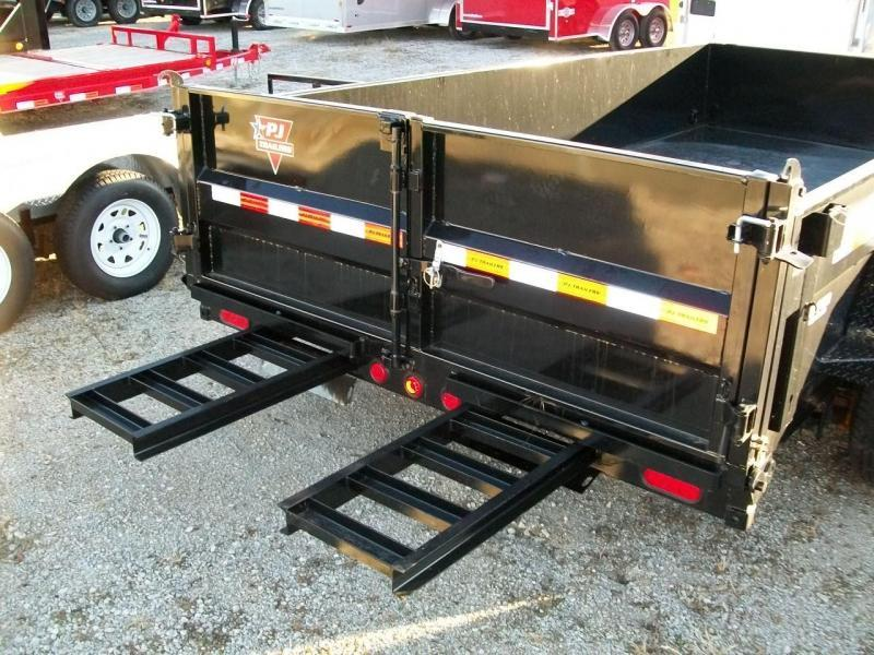 """2019 PJ DL 83""""X16' 14K GVWR Dump Trailer $8040"""