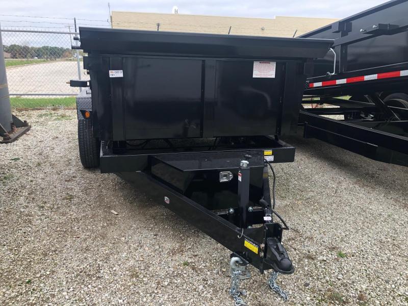 2020 Quality Steel CJ 6' x 12' 10K GVWR Dump Trailer