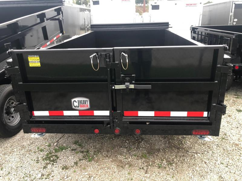 2020 Quality Steel CJ 6' x 12' 10K GVWR Dump Trailer
