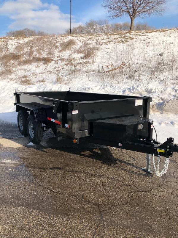 2020 Quality Steel 6X12 7K GVWR Dump Trailer $4550