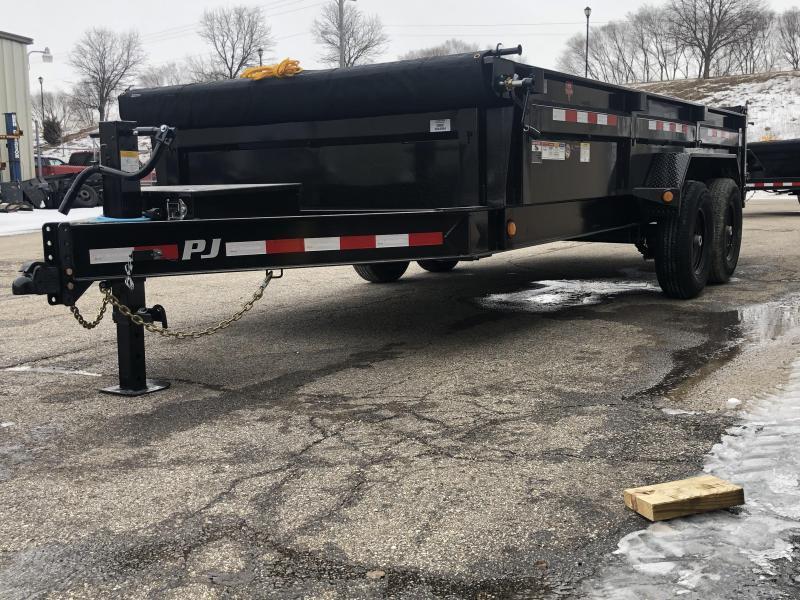 """2020 PJ DL 83""""X16' 14K GVWR Dump Trailer $8000"""