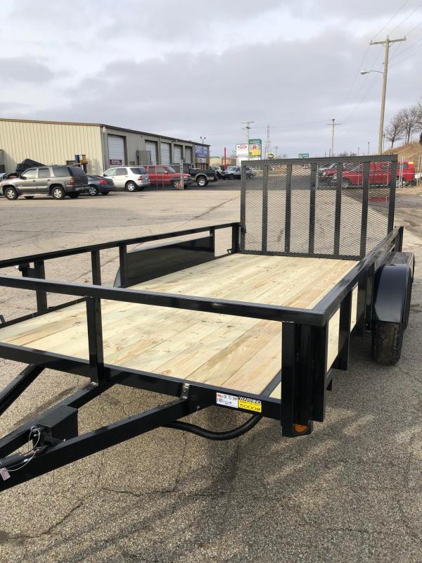 2020 Quality Steel 7X14 7K GVWR Utility Trailer $2500