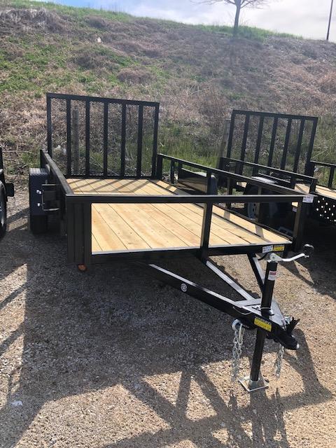 2020 Quality Steel 6X12 Single Axle Utility Trailer $1600