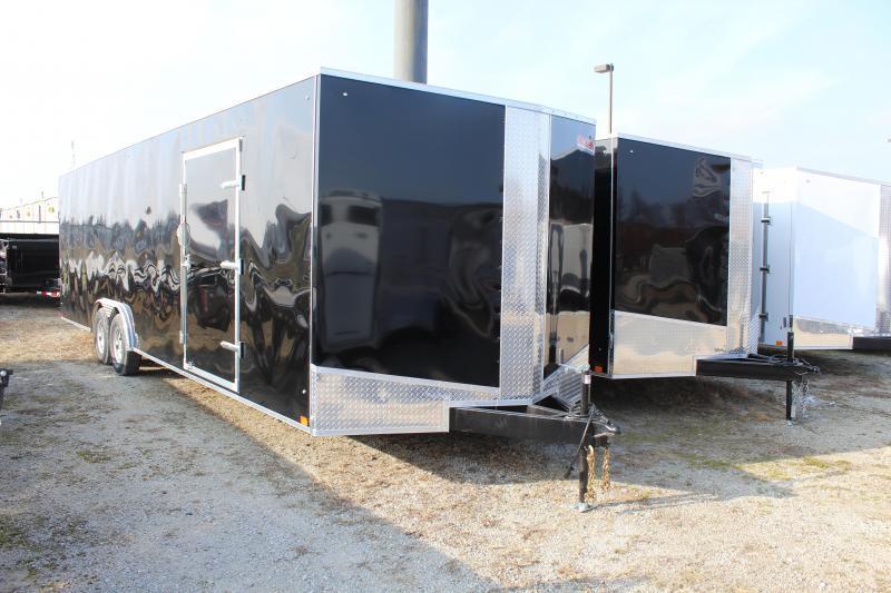 2020 Discovery Challenger ET 8.5X28 10K GVWR Enclosed Car Trailer $7075
