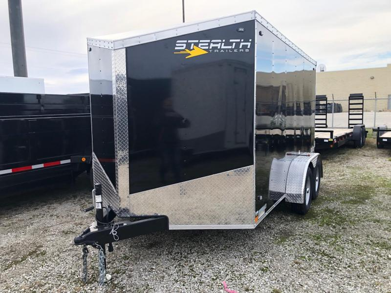 2020 Stealth Mustang 7X12 7K GVWR Enclosed Cargo Trailer $4150