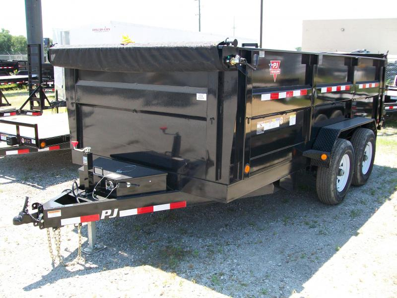 "2020 PJ DM 83"" X 14' 3' High Side 14K GVWR Dump Trailer $8140"
