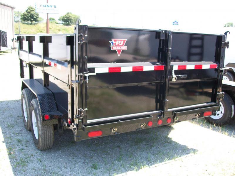 "2020 PJ DM 83"" X 14' 3' High Side 14K GVWR Dump Trailer $7940"