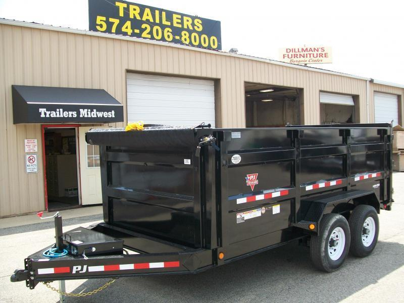 "2020 PJ DM 83"" X 14' 4' High Side 14K GVWR Dump Trailer $8140"