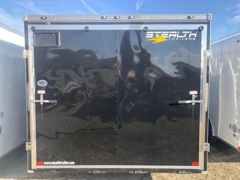 2020 Stealth Mustang 8.5X20 7K GVWR Enclosed Car Trailer $5600